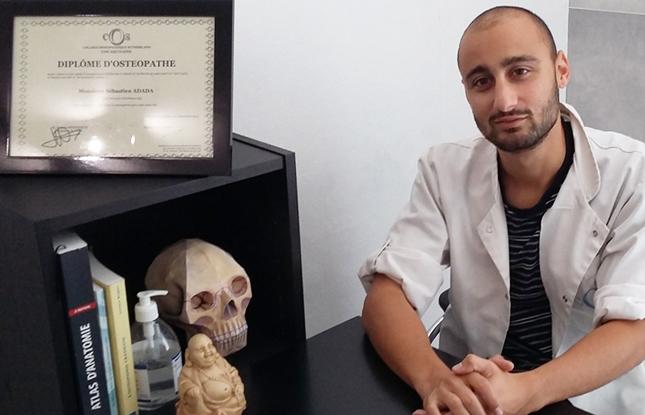 sebastien adada osteopathe à floirac
