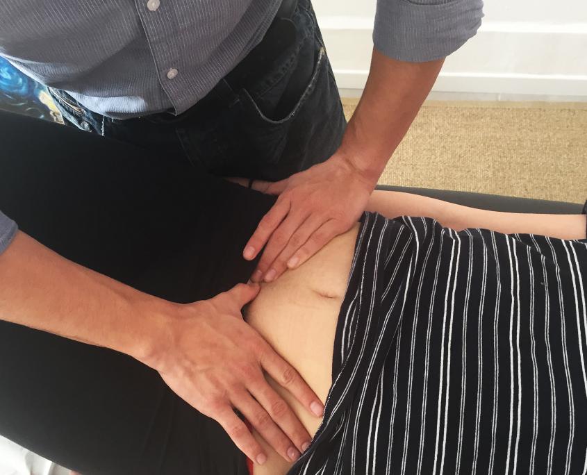 Technique viscerale d'osteopathie à floirac